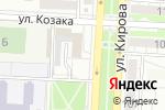 Схема проезда до компании СтройМонтажСервис в Волгограде