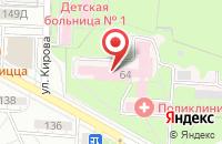 Схема проезда до компании Ягга в Волгограде