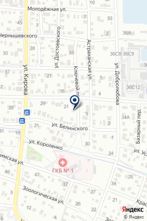 БАЛАНС на карте Волгограда