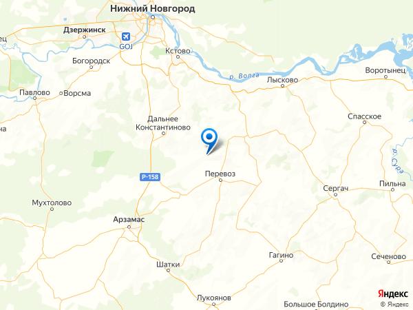 поселок Гари на карте