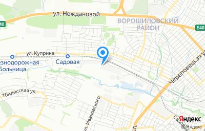 Местоположение на карте пункта техосмотра по адресу г Волгоград, ул Автотранспортная, д 29А