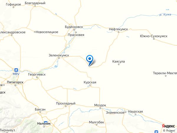 село Зелёная Роща на карте