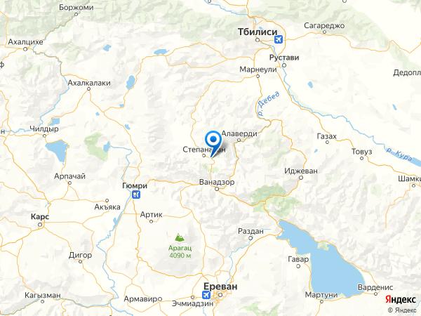 село Амракиц на карте