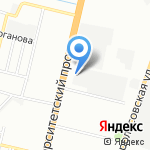 Волгоградский НИИ технологии машиностроения на карте Волгограда
