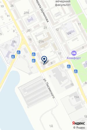 ОСНОВНАЯ ОБЩЕОБРАЗОВАТЕЛЬНАЯ ШКОЛА №139 МОУ на карте Волгограда