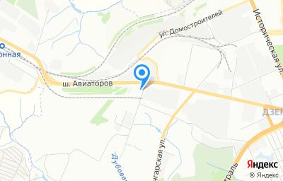 Местоположение на карте пункта техосмотра по адресу г Волгоград, ул Авторемонтная, д 17
