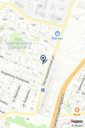 ВОЛЖСКИЙ ЗАВОД АСБЕСТОВЫХ ТЕХНИЧЕСКИХ ИЗДЕЛИЙ на карте Волжского