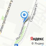 Завод железобетонных изделий и конструкций на карте Волгограда