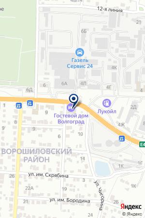 М-Сервис на карте Волгограда