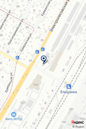 ДИЗАРЬ-КОМПЛЕКТ на карте Волгограда