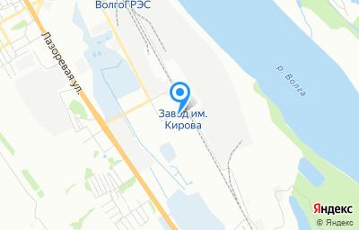 Местоположение на карте пункта техосмотра по адресу г Волгоград, ул Промысловая, д 16