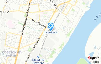 Местоположение на карте пункта техосмотра по адресу г Волгоград, ул Слесарная, д 101
