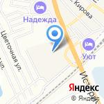 Мир плитки Атлас на карте Волгограда