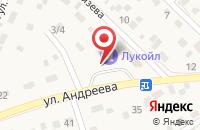 Схема проезда до компании АЗС в Городище