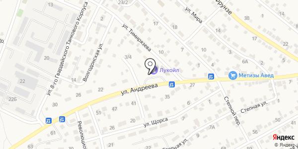 АЗС. Схема проезда в Городище