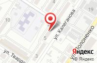 Схема проезда до компании Полимерные Технологии в Волгограде
