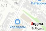 Схема проезда до компании не ПРОСТО МЕБЕЛЬ в Волгограде