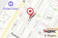 Схема проезда до компании Декко-Стиль в Волгограде