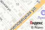 Схема проезда до компании Виктория в Волгограде