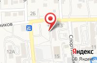 Схема проезда до компании Геосфера-М в Городище