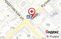 Схема проезда до компании Элитэль в Волгограде