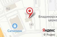 Схема проезда до компании Фобос в Волгограде