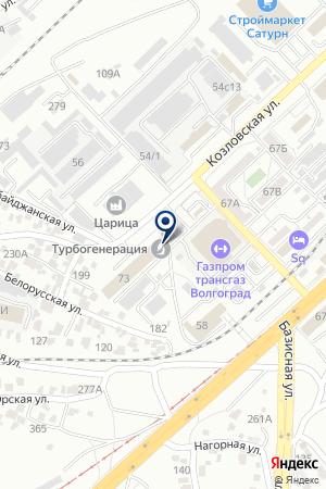 Компания КИПАСО на карте Волгограда