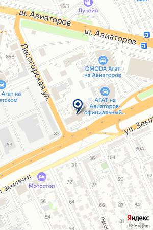 А.С.-Авто Юг на карте Волгограда