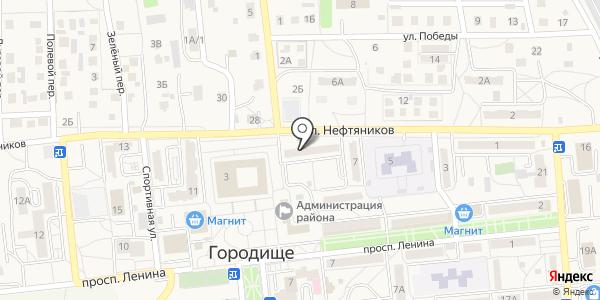 ЖКХ Городищенское. Схема проезда в Городище