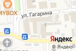 Схема проезда до компании Камелия в Городище