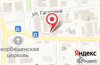Схема проезда до компании Почтовое отделение №3 в Городище