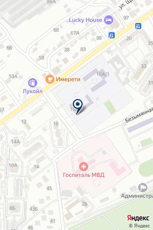 ВСПОМОГАТЕЛЬНАЯ ШКОЛА-ИНТЕРНАТ № 2 на карте Волгограда