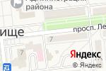 Схема проезда до компании РОЗЫ в Городище