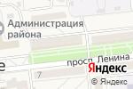 Схема проезда до компании Шарм в Городище