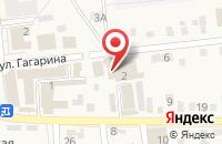 Схема проезда до компании Лагуна в Городище