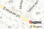Схема проезда до компании Автомаркет в Волгограде