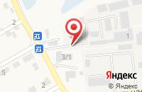 Схема проезда до компании Макс в Городище