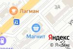 Схема проезда до компании Меркурий в Волгограде