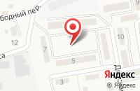 Схема проезда до компании Уютный в Городище