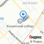 Царицынская транспортная компания на карте Волгограда