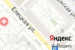 Схема проезда до компании TELE2 в Волгограде