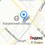 Управление вневедомственной охраны по г. Волгограду на карте Волгограда