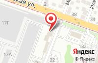 Схема проезда до компании Центр Социально-Политических Исследований «Югро» в Волгограде