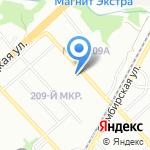 Гармония-Альфа на карте Волгограда