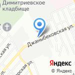Комплект-М на карте Волгограда