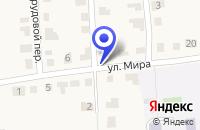 Схема проезда до компании УНИВЕРМАГ ЛУКОЯНОВСКОЕ РАЙПО в Лукоянове