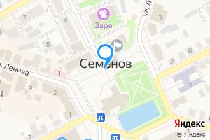 Сдается однокомнатная квартира в Семёнове Нижегородская область, Семёнов