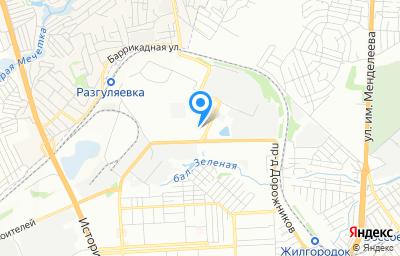 Местоположение на карте пункта техосмотра по адресу г Волгоград, ул Краснополянская, д 35