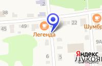 Схема проезда до компании ГАРАЖ ЛУКОЯНОВСКОЕ РАЙПО в Лукоянове