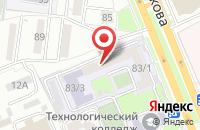 Схема проезда до компании ПромАрматура в Волгограде